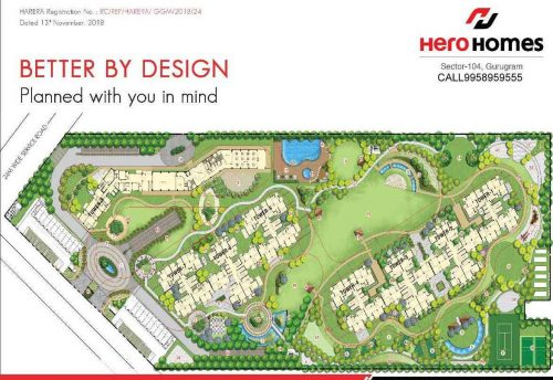 herohomes gurgaon location