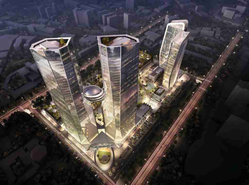 WAVE ONE SECTOR 18 NOIDA COMMERCIAL OFFICE SPACE