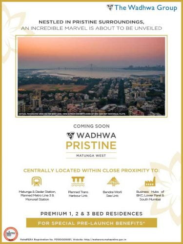 A Marvelous Residence, Coming Soon at Matunga