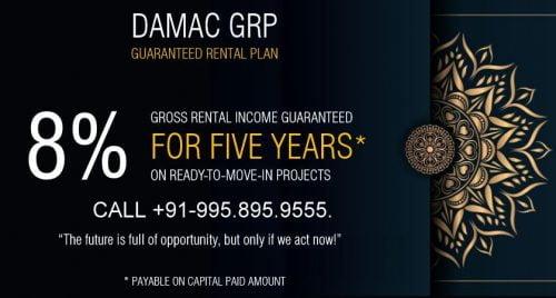 Damac assured rental scheme call now