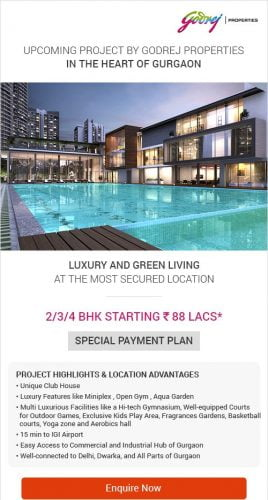 New Launch by Godrej Properties