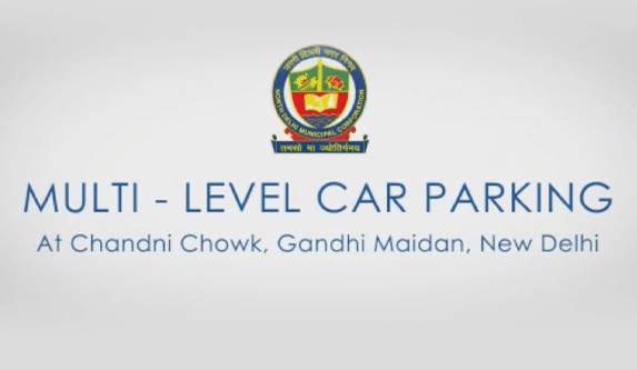 Omaxe Chowk Parking Solution in Chandni Chowk - Multi-level parking cum commercial project in Chandni Chowk. Gateway of Chandni Chowk; PPP with North MCD; Monitored by Delhi High Court; Parking for