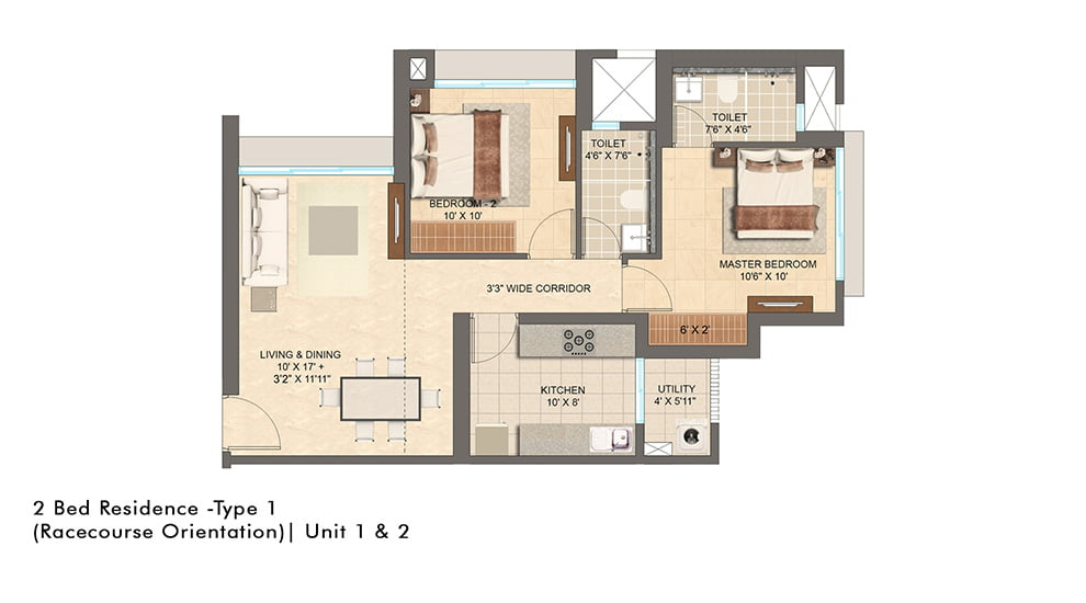 Lodha Vista, Virtual Tour, 2 BHK, Floor Plan, Location Map, Drone View, Lower Parel, Mumbai South