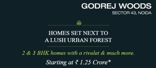 Godrej Woods CALL 9958959555 Sector-43, Noida 2 & 3 BHK