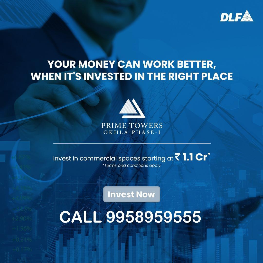 DLF COMMERCIAL OFFICE DELHI CALL 9958959555