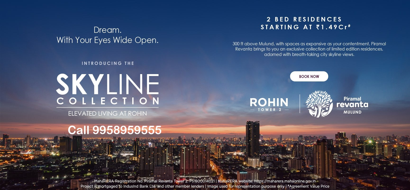 Launching The Skyline Collection Limited Edition 2BHKs @ Piramal Revanta Mulund