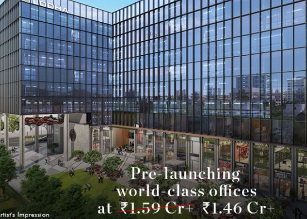 lodha must have office retail call 9958959555